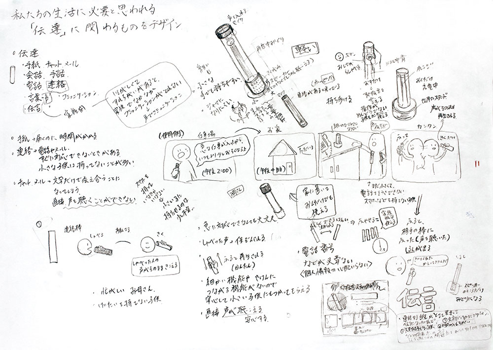 日本大学_デザイン学科 プレゼンアイデア