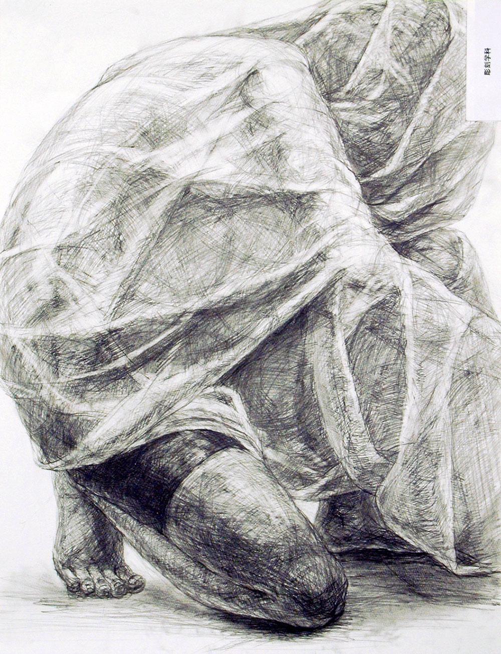 武蔵野美術大学_彫刻学科「鉛筆デッサン」