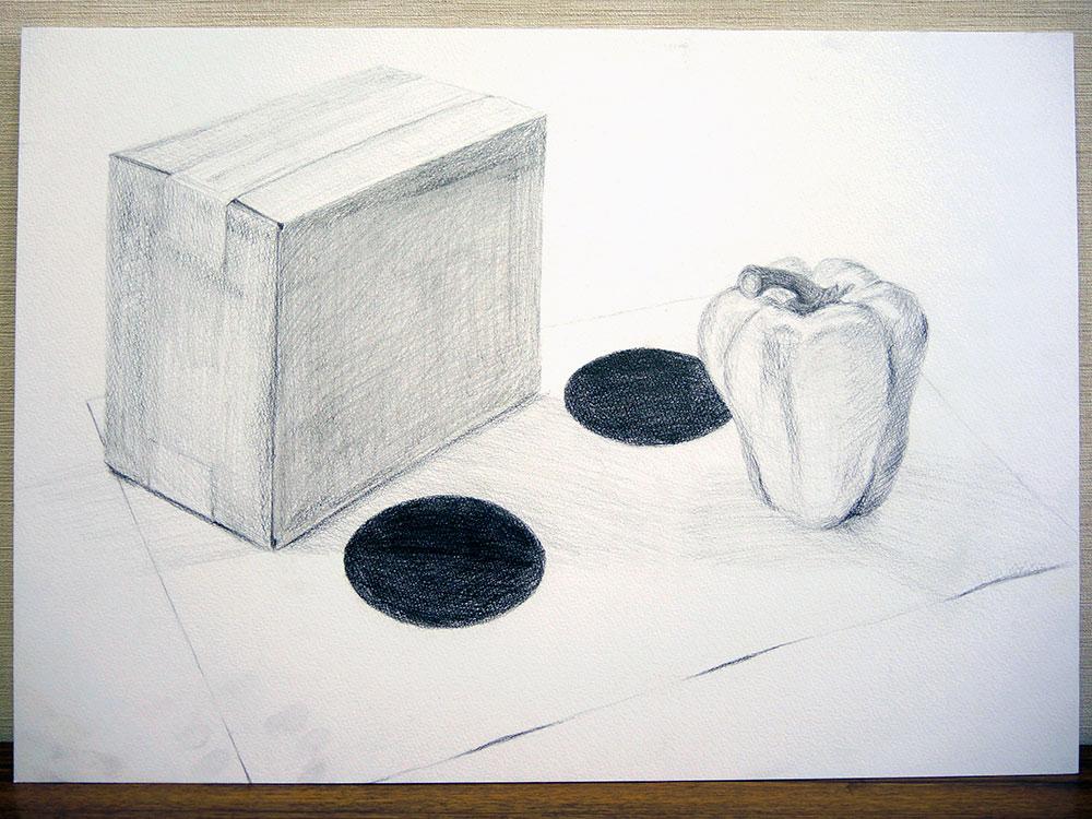 横浜美術大学_AO入学試験(指導付き鉛筆デッサン2時間)1