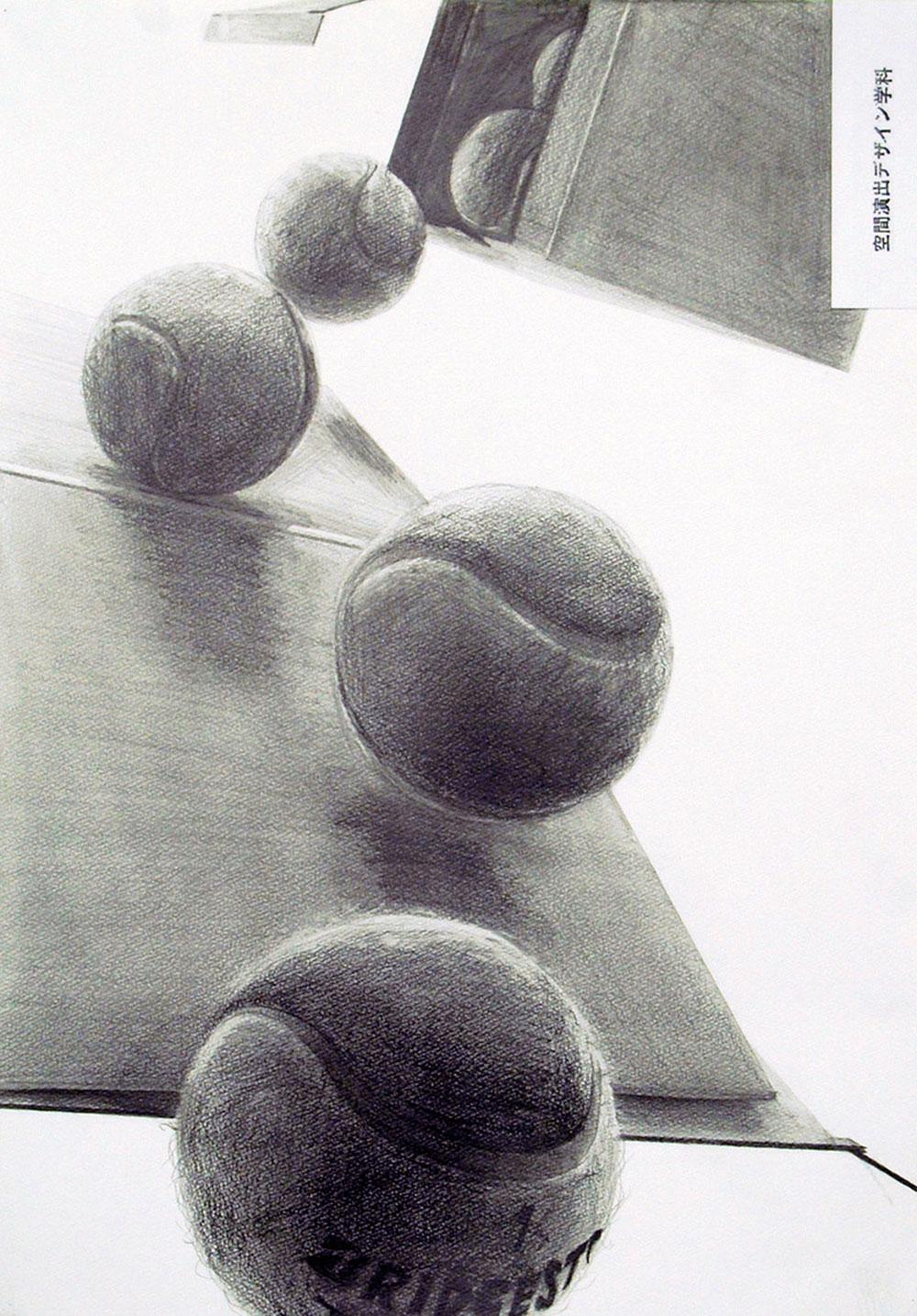武蔵野美術大学_空間演出デザイン学科「鉛筆デッサン」