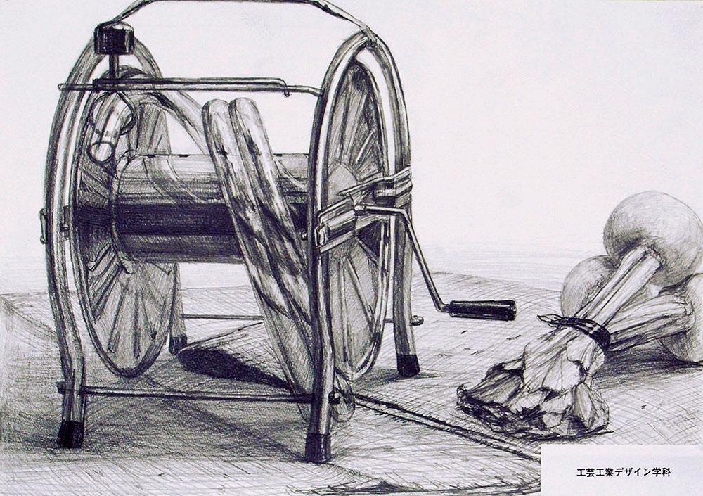 武蔵野美術大学_工芸工業デザイン学科「鉛筆デッサン」