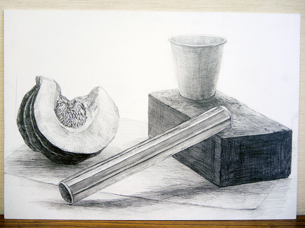 横浜美術大学_一般入学試験A(鉛筆デッサン3時間)2