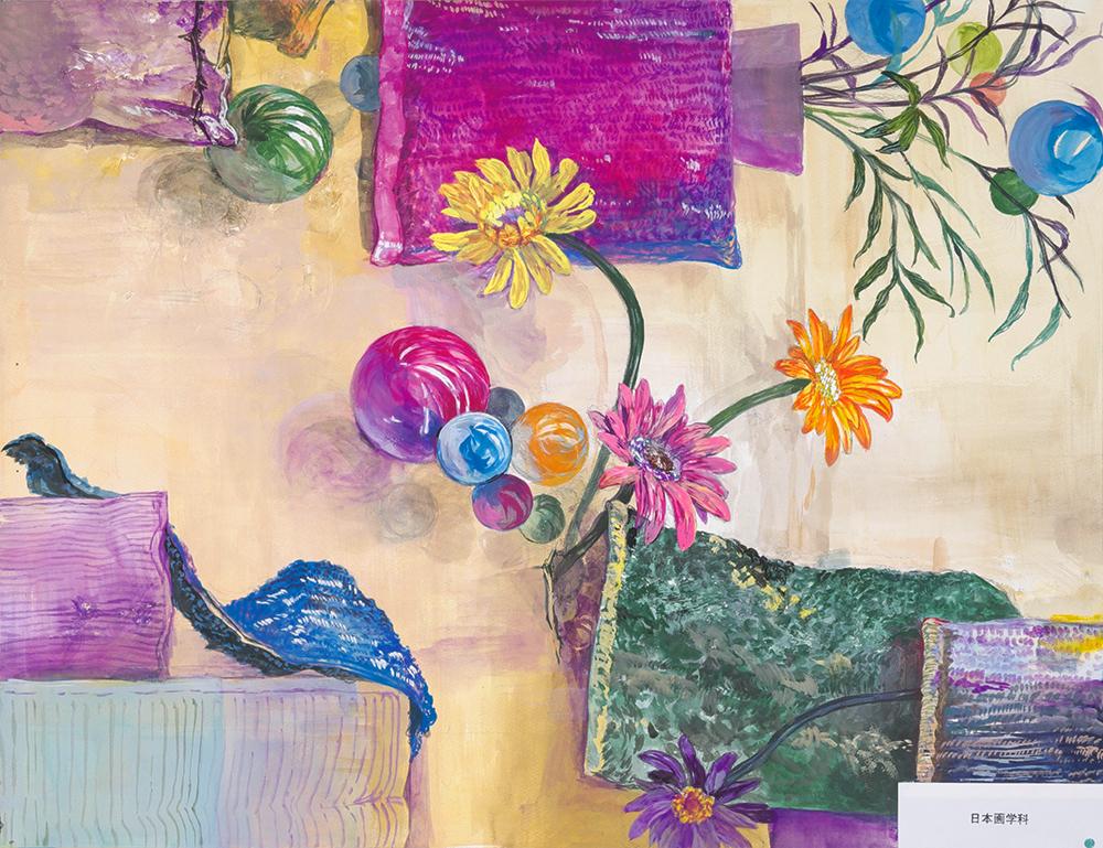 武蔵野美術大学 日本画学科「着色写生」