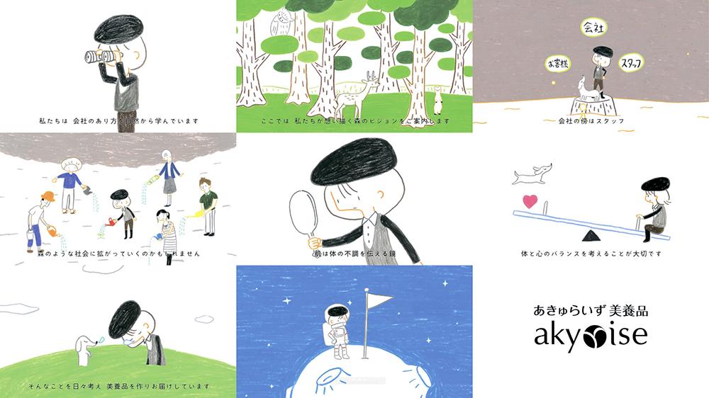あきゅらいず美養品コンセプトアニメーション「あきゅの素」2011年(あきゅらいず美養品)