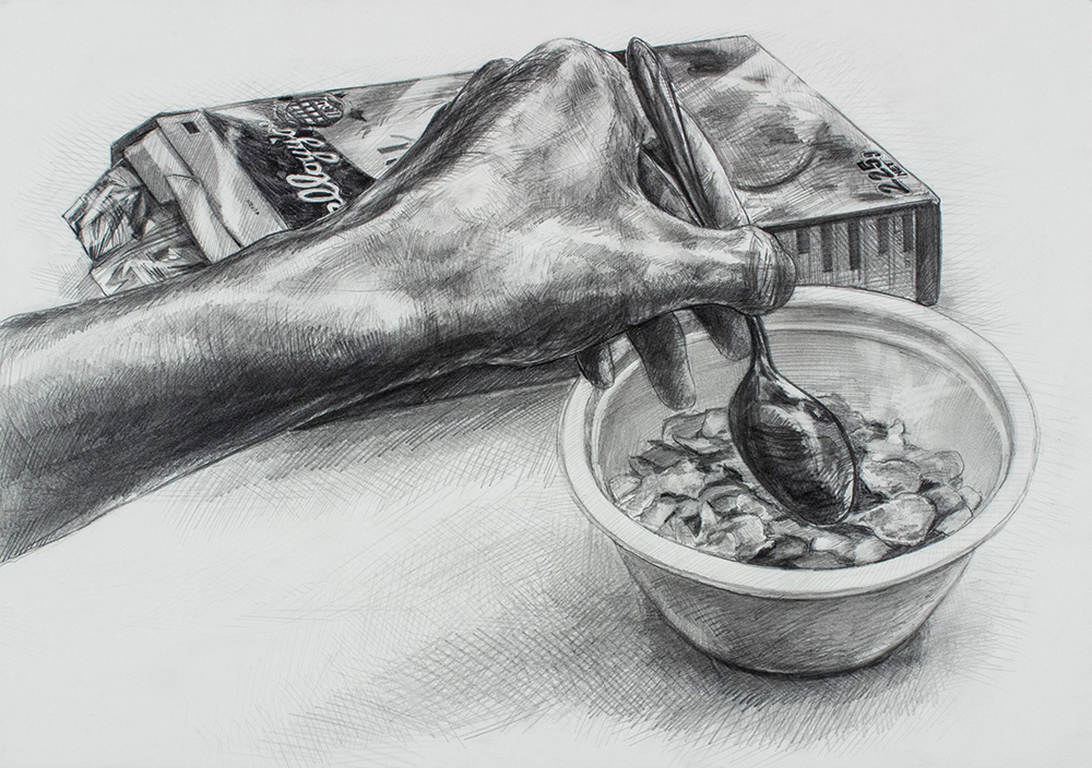 名古屋芸術大学 デザイン学科 A日程入試 第一・第二方式共通デザイン実技A 鉛筆デッサン