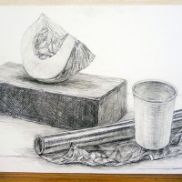 横浜美術大学_一般入学試験A(鉛筆デッサン3時間)1