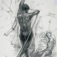 武蔵野美術大学 彫刻学科「鉛筆デッサン」