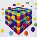 基礎造形A 平面色彩構成1