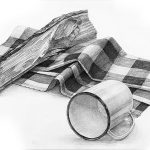 京都精華大学 デザイン学部 ビジュアルデザイン学科共通 2014一般入試A日程「鉛筆デッサン」(3時間)