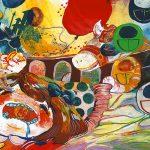 京都精華大学 芸術学部 メディア造形学科共通 2014公募制推薦 「色彩表現」(4時間)