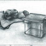 大阪芸術大学-工芸学科 推薦 鉛筆精密描写