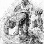 武蔵野美術大学-彫刻学科「鉛筆デッサン」