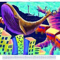 大阪芸術大学-デザイン学科 グラフィックデザインコース ビジュアルアーツコース 情報デザインコース 推薦 色彩構成